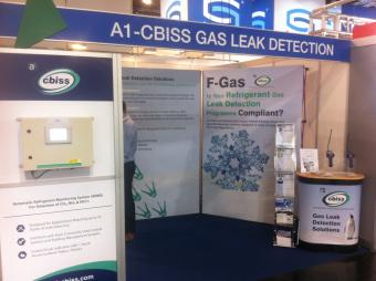 a1-cbiss Exhibit at Chillventa