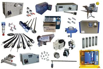 Ankersmid Components for Gas Analysis Systems