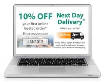 10% Discount off Your First Gastec Order