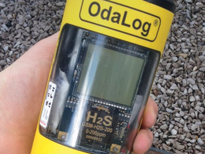 H2S Logger Successful in Sewage Treatment Trials