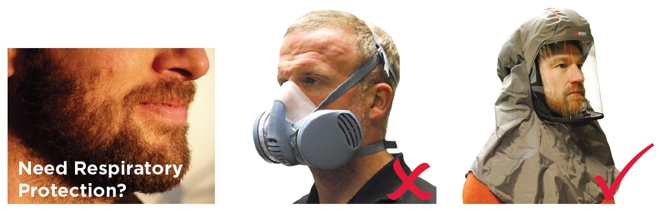 Avoid a Close Shave! Respirators for Beards
