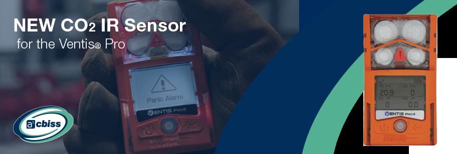 New CO2 Sensor for Ventis® Pro