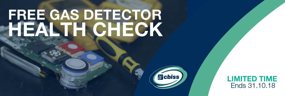 FREE Gas Detector Health Check