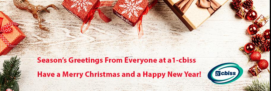 Christmas Holiday Office Closure