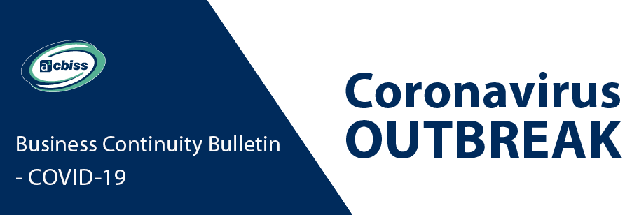 Business Continuity Bulletin - COVID-19