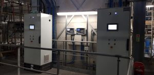 fixed gas detection system at EFW facility