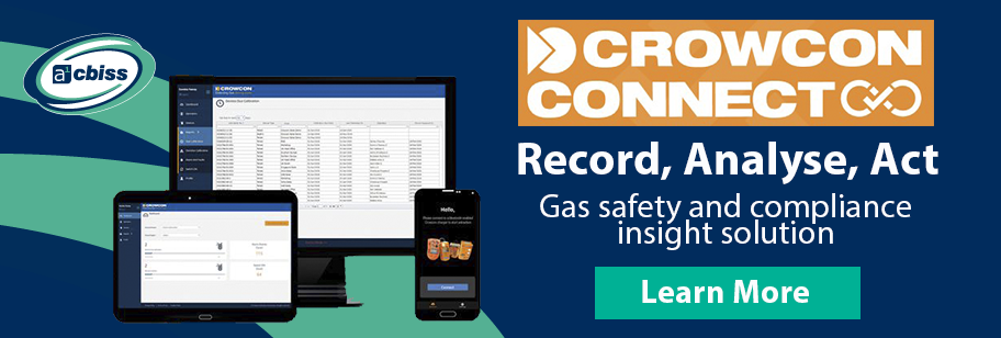 Discover Compliance, Efficiency & Enhanced Safety with Crowcon Connect