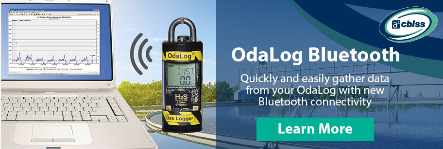 OdaLog Bluetooth - Wastewater Datalogging Made Easy