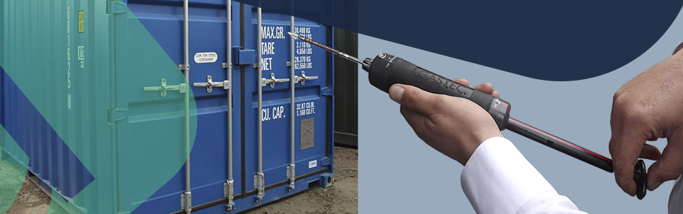 Gas Testing in Shipping Containers